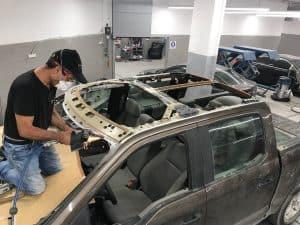 טיפול רכב לאחר תאונה