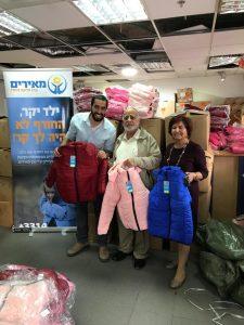 חלוקת ביגוד חורף לנזקקים הבירה ירושלים